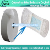 Produits de papier, sève/polymères absorbants superbes pour des couches-culottes/serviette hygiénique
