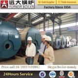 Wns automatisches Gas und ölbefeuerter Dampfkessel, 3 Tonnen-Dampfkessel mit Brenner Italien-Baltur