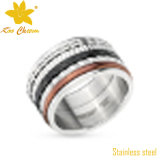 Str-016 Moda Artificial Ladies Stainless Steel Rings