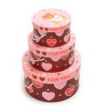 Caja de papel de regalo personalizada para chocolate/Cookie/Pastel Pizza/Caramelos/