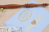 Impression de papier en aluminium de logo de clinquant d'estampage de couleur d'or de clinquant de clinquant chaud de transfert thermique