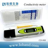 Type imperméable à l'eau mètre de conductivité d'essai de la CEE de Digitals (CD-988) de crayon lecteur