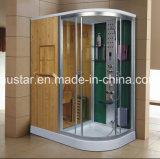 1700mm Sauna combinada a vapor combinada com chuveiro (AT-D1710BF-1)