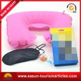Headrest não tecido barato da linha aérea linha aérea inflável do descanso inflável do descanso do Headrest da melhor