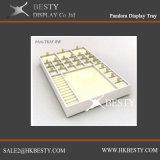 Cassetto personalizzato della visualizzazione dell'anello dei branelli del braccialetto