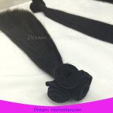 新式の人間の毛髪の拡張毛はFunmiのインド人の毛を継ぎ合わせる