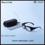 2700-3000nm Di Lb3 Er Lasersicherheits-Gläser u. Augenschutz-Schutzbrillen mit schwarzem Spant 33