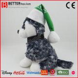 Brinquedo de cachorro de pelúcia