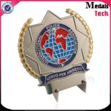 Monete impresse 3D dirette del gioco di marchio del metallo di vendita della fabbrica