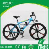 Montaña de la bici de 26 pulgadas E con la rueda de la aleación de Magesium