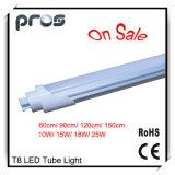 tubo di 1.2m T8 LED, indicatore luminoso del tubo di 18W LED T8
