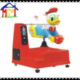 As crianças do parque de diversões de jogo de Giro Kiddie Carona Cartoon Swan