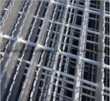 Reja serrada plataforma galvanizada del acero de la prolongación del andén