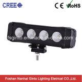 자동차 부속 40W LED 표시등 막대 단 하나 줄 트럭 자동차 운전 표시등 막대
