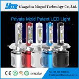 Farol brilhante super do diodo emissor de luz de Ymt 20W H4 para o feixe elevado