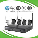 4CH 4 MP WiFi NVR Kit de soporte del móvil y P2p
