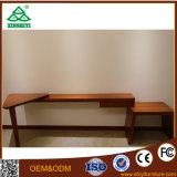 Chambre à coucher Mobilier de bois solide avec du bois de chêne pour l'hôtel Chambre à coucher