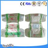 Couches-culottes remplaçables bon marché de bébé de feuille de dos de PE d'OEM pour monsieur Lanka