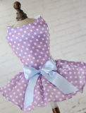 Cute Polka Dot robe de chien chien Vêtements chien confortable shirt robe pet