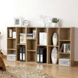 Estante de visualización de madera del estante del estante del soporte del estante de libros