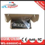 De auto 4W Buitenkant zet de LEIDENE Oppervlakte van de Waarschuwing opzet op Opvlammend Licht