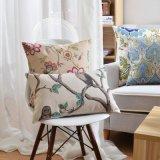 Desconto impresso de algodão 18 X 18 insertos de almofadas para sofá
