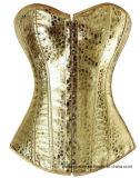 De la mujer Steampunk deshuesada formador Overbust Corset de cintura Wholesale