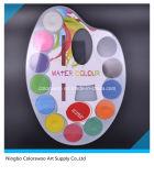 4.0cm*12colors de Cake van de Kleur van het water voor Jonge geitjes en Studenten (witte kleur)