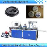 Plástico automáticas de café y leche/taza de té tapa/cubierta de la máquina de termoformado