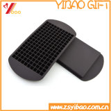 Helado de goma Moled (XY-KW-ML-125) de Moled del chocolate del silicón de los utensilios de cocina del silicón de la red de la bandeja 160 del cubo de hielo