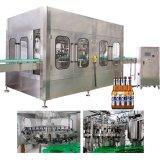 Máquina de rellenar aséptica del zumo de fruta de la botella de cristal de la nueva tecnología