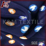 100% шелк тяжелых печатных креп атласный шелк ткань с SGS утверждения