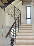 튼튼한 스테인리스 로드 난간 계단과 발코니 방책 디자인