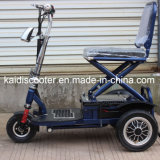De volwassen 350W Vouwbare ElektroAutoped van de Mobiliteit van Drie Wielen met Ce