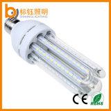 Lâmpada de alumínio LED com milho AC85-265V 14W Iluminação interior U Shape Lamp