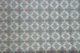 Couro de sapatas impresso de venda quente colorido do Glitter (E6068)