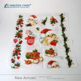 Papel de embalagem bonito do estilo do Natal do logotipo