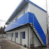 Casa modular para o hotel feito da construção de aço