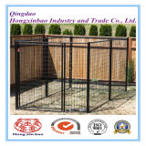 Черные порошок цвета или PVC покрывая напольную клетку собаки