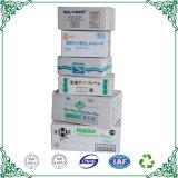 Blanc de la nourriture des boîtes de rangement en carton ondulé emballages cartons master