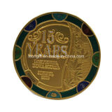 特別な端が付いているカスタマイズされた金の金属の記念品の軍の軍隊の硬貨