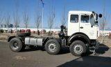 6X4 340HP 50ton Beiben 트랙터 헤드 트럭