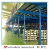 Piso do mezanino de aço, Metais Industriais Rack de plataforma de mezanino de armazenamento