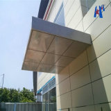 Laminação de painéis ACP Composto, revestimento de parede de alumínio Folha composta de alumínio