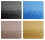 Foshan에서 중국 공급자 스테인리스 PVD 색깔 장