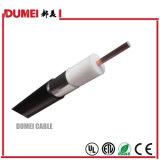 Câble coaxial de liaison d'Al-Tube de l'usine Qr625 de la Chine pour le système de CATV