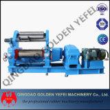 Ouvrir la machine en caoutchouc de moulin de mélange de deux roulis (le réducteur durci)