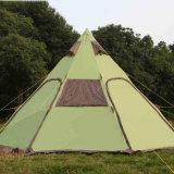 6+人グループの屋外のキャンプのためのB2bの製造業者2の戸口の呼び鈴のテント