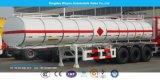 Aluminiumkraftstofftank-LKW-halb Schlussteil