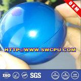 Glatte hohle Plastikkugel der Form-65mm 40mm pp. mit der zu öffnenden Schraube vorbereiten